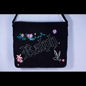 Ralph Lauren Canvas Messenger Bag